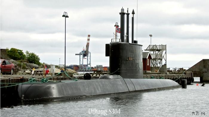 Marinebesøk i Larvik i dag