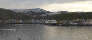 Kong Vinter har kommet til Hammerfest