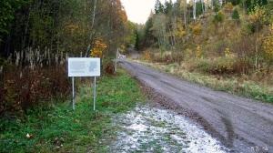 Skilt ved Andersbånnveien. Foto: Reidar Nordkveldemoen