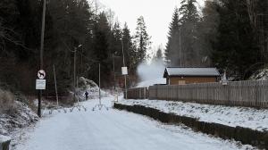 Skiløypene  ut i Vestmarka