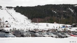 Alpinbakken i Siljan. Foto. Reidar Nordkveldemoen©