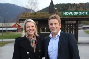 Det var en stolt og takknemlig daglig leder Geir Helge Espedalen som mottok gavesjekken. Foto: Dyrsku'n