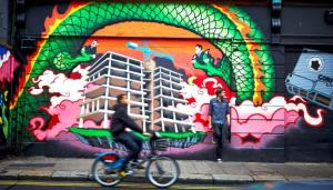 Visste du at det er mye vakker gatekunst og graffiti i Dublin? Foto: Tourism Ireland