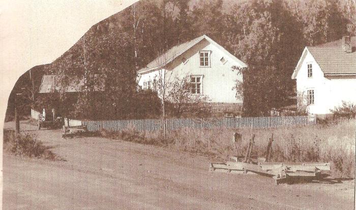 Haugen skole 1958. Foto Berit Eskedal