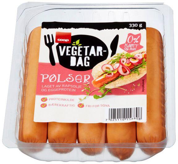 coop vegetarpølser