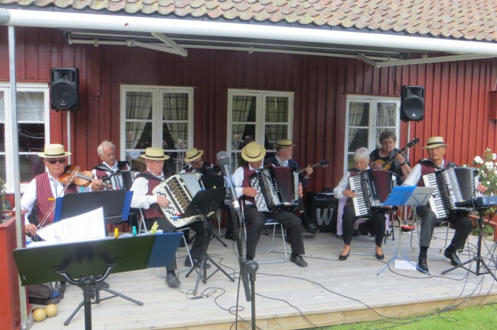 Varden trekkspillorkester på Tunet, 29.6.14