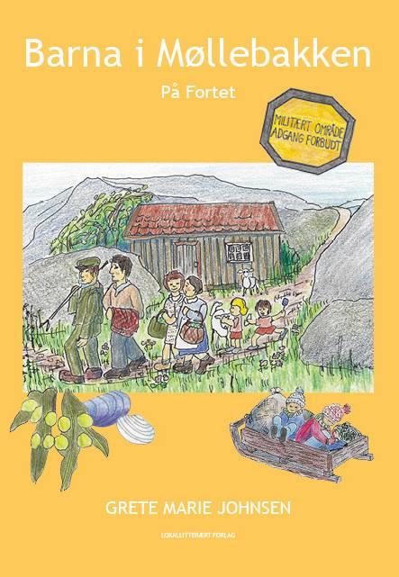 Barna i møllebakken På Fortet